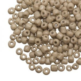 20 gram Rocailles (Marble Almond) 4 mm