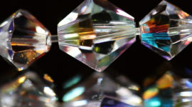 Swarovski & Preciosa Kristal kralen Bicone
