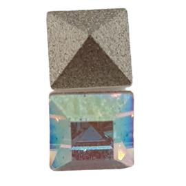 10 x Kristal AB swarovski puntsteen 4 mm
