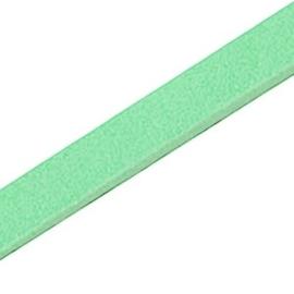17 cm DQ leer plat 10mm Pastel spearmint green