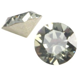 2 x Swarovski Elements PP32 puntsteen (4.0mm) Black diamond