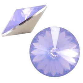 1x BQ quality 1122- Rivoli puntsteen12 mm Sapphire blue opal ca. 12 mm (1122)