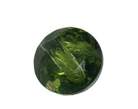 2x Precosia punt kristal Rond 11 mm Groen