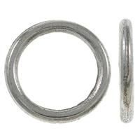 10 stuks Tibetaans zilveren gesloten ringen 10 x 1mm gat c.a. 7,5mm