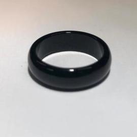 2x Gesloten ring Glas / diameter 18mm - buitenmaat 23