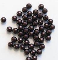 20 x Glasparel Donker-bruin 6 mm