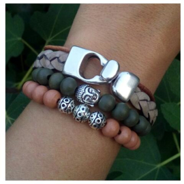 Armbandenset naturel  ♥