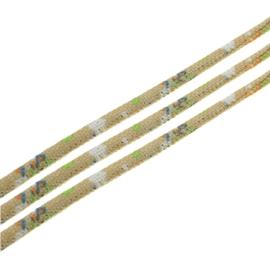 20 cm Trendy gestikt koord 7 x 5mm stro