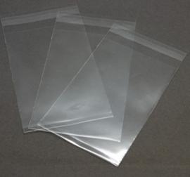 c.a. 50 stuks cellofaan zakjes voor postkaartjes of flyers etc. 14x17cm x 0,05mm Goede stevige kwaliteit!