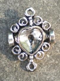 Prachtig ornamentje 26 x 19 aan bijde zijden kan ook strass worden aangebracht.