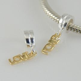 Bead Love (Schroefdraad) Materiaal: 925 Sterling Zilver