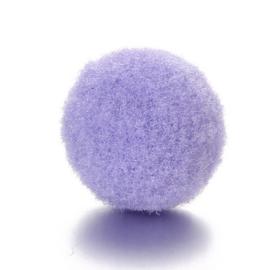 2x Parfum sponsje 13mm lila