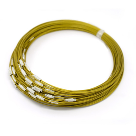 Spang lengte 46cm goudkleur