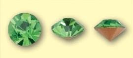 Doosje met 6 stuks Jewelry Stones (M.C. Chaton) 6mm Olivine SS28