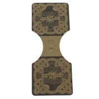 50 stuks kartonnen Labels  bruin voor sieraden 25 x 90mm