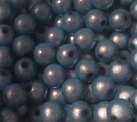 10 Stuks Acrylkraal miracle aqua blauw 3 D 8 mm