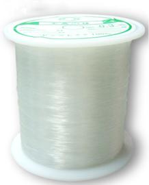 1 rol transparant nylon draad 0,25mm 150 meter per rol