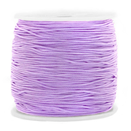 Rol met 90 meter Macramé draad 0.8mm Violet lila (kies voor pakketpost)