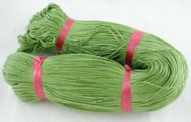 10 meter waxkoord 1,5mm dik kleur: olive green