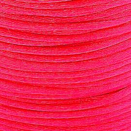 2 meter Macrame Satijndraad 1.0 mm Deep Pink