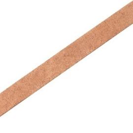 17 cm DQ leer plat 5mm Light cognac brown