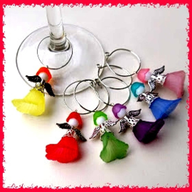 Wine charms/ engeltjes ♥