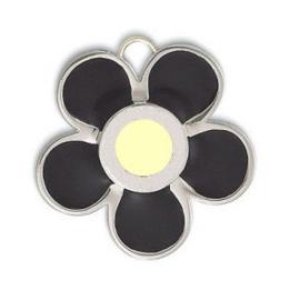Prachtige 925 Sterling zilveren bloem hanger