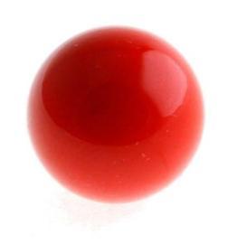 Klankbolletje 20mm voor een Engelenroeper Rood