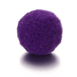 Parfum sponsje 13mm paars