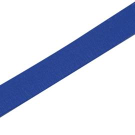 20 cm Basic quality leer plat 10mm blauw