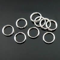 100 ringetjes 4 mm nikkelkleur 0,7mm dik