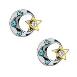 2 x Floating Charms MaanSter 8 mm