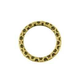 10 x Metalen Ring Tussenstuk Antiek Goud 18.5 mm