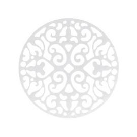 1x Bohemian tussenstuk rond 23mm Zilver