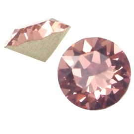2 x Swarovski Elements SS24 puntsteen (5.2mm) Blush rose