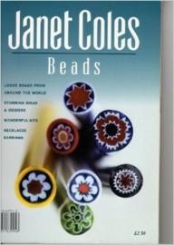 Groot mooi Engels boek Janet Cole's BEADS Book, met vele kleuren foto's