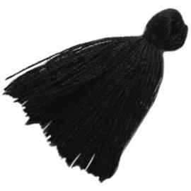 Kwastje Black c.a. 3cm