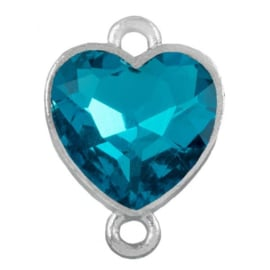 Tussenzetsel met kristal of half edelsteen