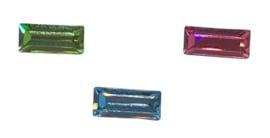 3x Precosia Kristal Staafjes vorm 7 mm x 3 mm mix