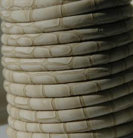 20 cm imi leer 6x4 mm ivoor