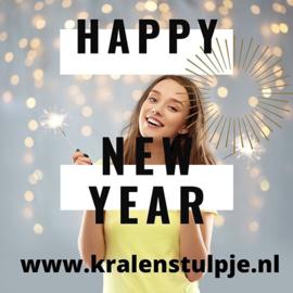 01-01-2021 Nieuwsbrief van 't Kralenstulpje ~ gelukkig nieuwjaar!!!!