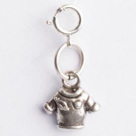 Be Charmed bedel Trui met karabijnsluiting ca. 23,5 x 11mm oogje: 4mm  nikkelvrij en voorzien van een rhodium laag.
