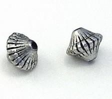 10 stuks Metallook kraal 12x14mm