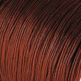 2 meter Macramé Draad 1 mm Chestnut