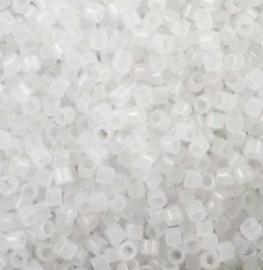 5 gram Delica 11/0 Miyuki White Opal Opaque