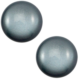 1 x 12 mm classic cabochon Super Polaris Rustic blue