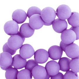 30 x 8 mm acryl kralen Electric purple