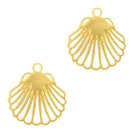 Hangers bohemian schelp Goud
