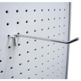 Metalen stevige display haak 9 lang 15mm breed en 4,5cm hoog.