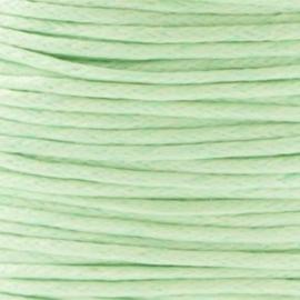 10 meter Waxkoord 1.0 mm Chrysolite Green